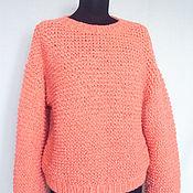 """Одежда ручной работы. Ярмарка Мастеров - ручная работа Пуловер """"Фламинго"""". Handmade."""