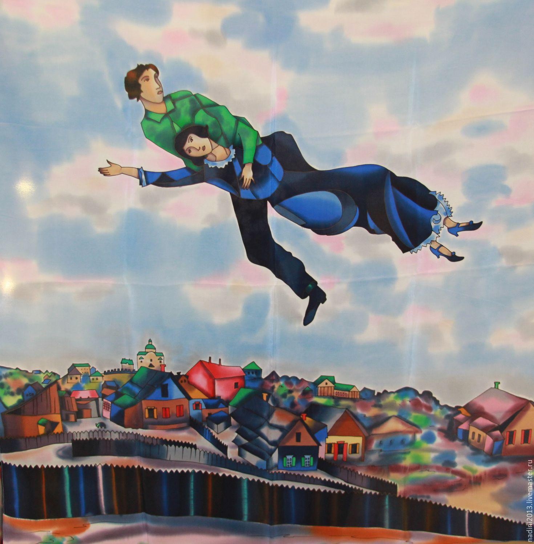 Шагал картина над витебском