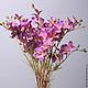 Цветы ручной работы. Искусственные цветы. Цветочный рай.Декор (decor-fp). Ярмарка Мастеров. Искусственные цветы