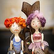 Куклы и игрушки ручной работы. Ярмарка Мастеров - ручная работа Цирковые Кукуууусики). Handmade.