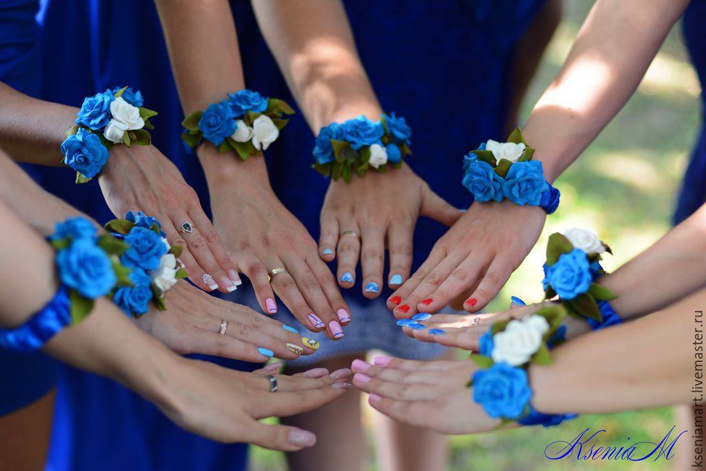 Браслеты подружек невесты своими руками 71