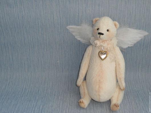 Мишки Тедди ручной работы. Ярмарка Мастеров - ручная работа. Купить Мишка Тедди Нежный Ангел. Handmade. Мишка тедди