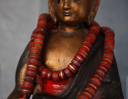 Четки ручной работы. Ярмарка Мастеров - ручная работа. Купить Тибетские чётки .Средняя длина.. Handmade. Тибет, практика йоги