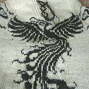 Свитеры ручной работы. Ярмарка Мастеров - ручная работа Женские свитера с разными рисунками. Handmade.
