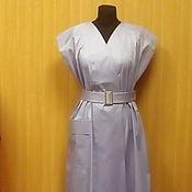 Одежда ручной работы. Ярмарка Мастеров - ручная работа Платье в стиле...сиренево-голубое.... Handmade.