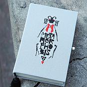 """Сумки и аксессуары ручной работы. Ярмарка Мастеров - ручная работа Клатч-книга """"Превращение"""". Handmade."""