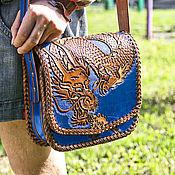 Сумки и аксессуары handmade. Livemaster - original item Leather bag for women