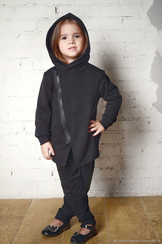 b200118f Одежда унисекс ручной работы. Ярмарка Мастеров - ручная работа. Купить  Костюм детский 'Black ...