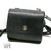 Сумки и аксессуары handmade. Livemaster - original item Leather bag Black case. Handmade.