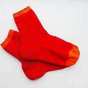 Аксессуары ручной работы. Ярмарка Мастеров - ручная работа носки вязанные купить. Handmade.