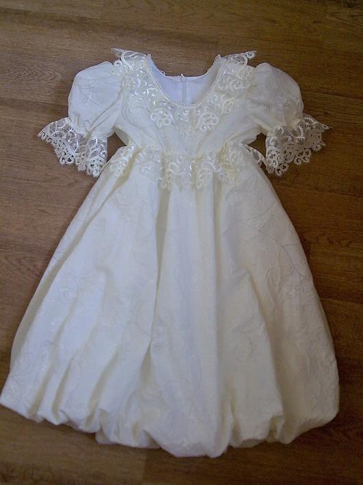 """Одежда для девочек, ручной работы. Ярмарка Мастеров - ручная работа. Купить Платье""""Зимние узоры"""". Handmade. Пошив на заказ, ткань"""