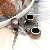 Материалы для творчества handmade. Livemaster - original item Bail for pendants, pendants on Copper (Ref. 2213). Handmade.