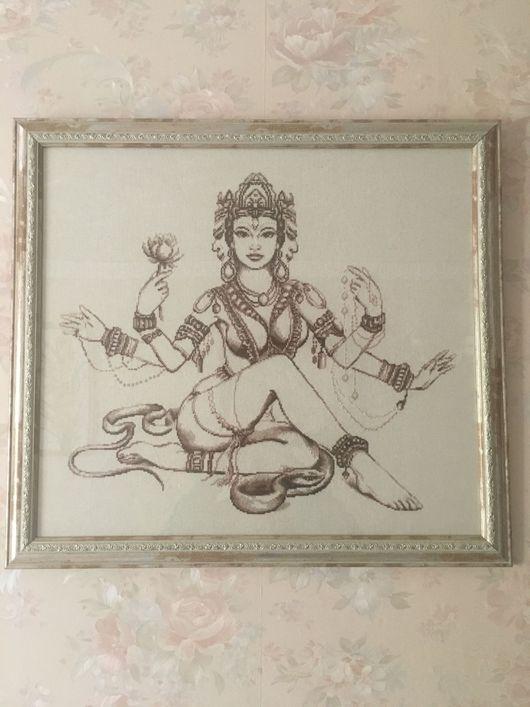 Фэнтези ручной работы. Ярмарка Мастеров - ручная работа. Купить Мифы Индии. Handmade. Вышивка крестом, вышивка ручная