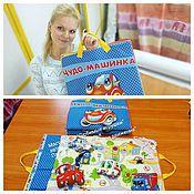 Куклы и игрушки ручной работы. Ярмарка Мастеров - ручная работа Развивающий коврик- сумка. Handmade.