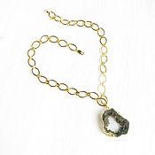 Украшения handmade. Livemaster - original item The Druse agate pendant