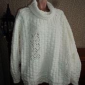 Одежда handmade. Livemaster - original item Jerseys: The oversized sweater