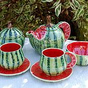 Посуда handmade. Livemaster - original item Services: Watermelon. Handmade.