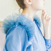 Одежда ручной работы. Ярмарка Мастеров - ручная работа Свитшот с фатиновыми крыльями. Handmade.