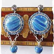Украшения handmade. Livemaster - original item Boho jewelry Earrings