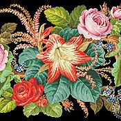 """Материалы для творчества ручной работы. Ярмарка Мастеров - ручная работа Схема вышивки """"Вальс цветов"""". Handmade."""