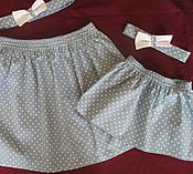 Одежда ручной работы. Ярмарка Мастеров - ручная работа Комплект для мамы и дочки. Handmade.