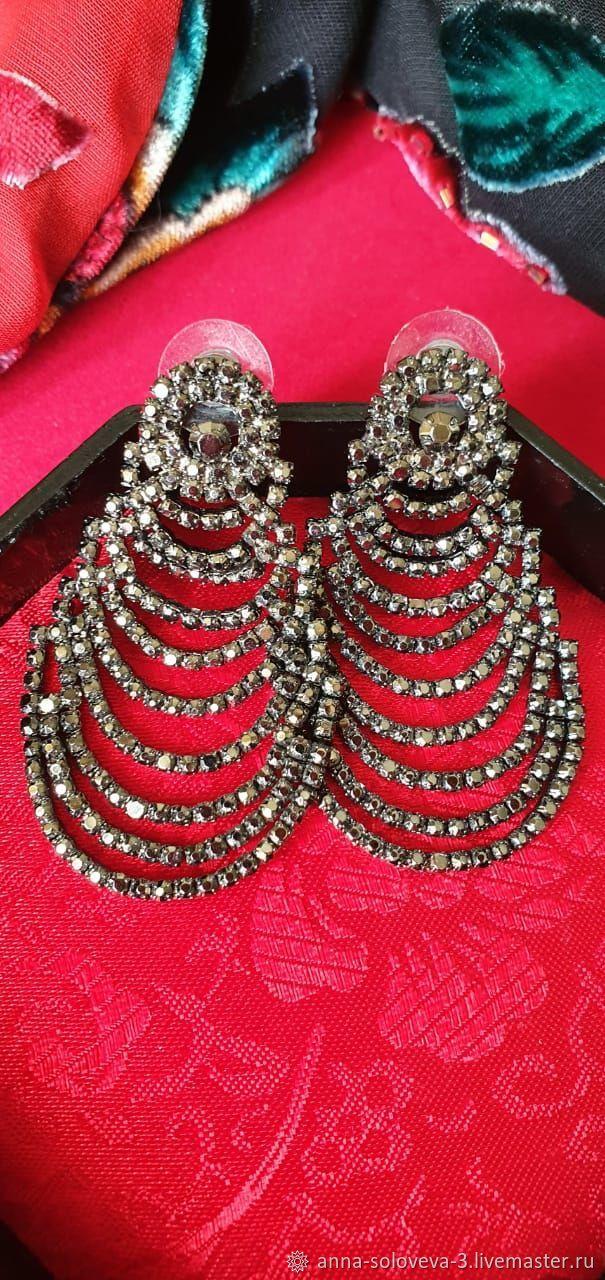 Earrings ' black Eyes», Vintage earrings, Moscow,  Фото №1