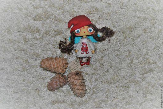 Коллекционные куклы ручной работы. Ярмарка Мастеров - ручная работа. Купить Забавные новогодние феечки). Handmade. Комбинированный, коллекционная кукла