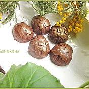 Косметика ручной работы. Ярмарка Мастеров - ручная работа Шоколадные гидрофильные плиточки. Handmade.