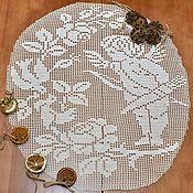 Для дома и интерьера handmade. Livemaster - original item Knitted napkin