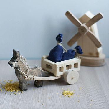 """Куклы и игрушки ручной работы. Ярмарка Мастеров - ручная работа Набор """"Мельница"""". Handmade."""