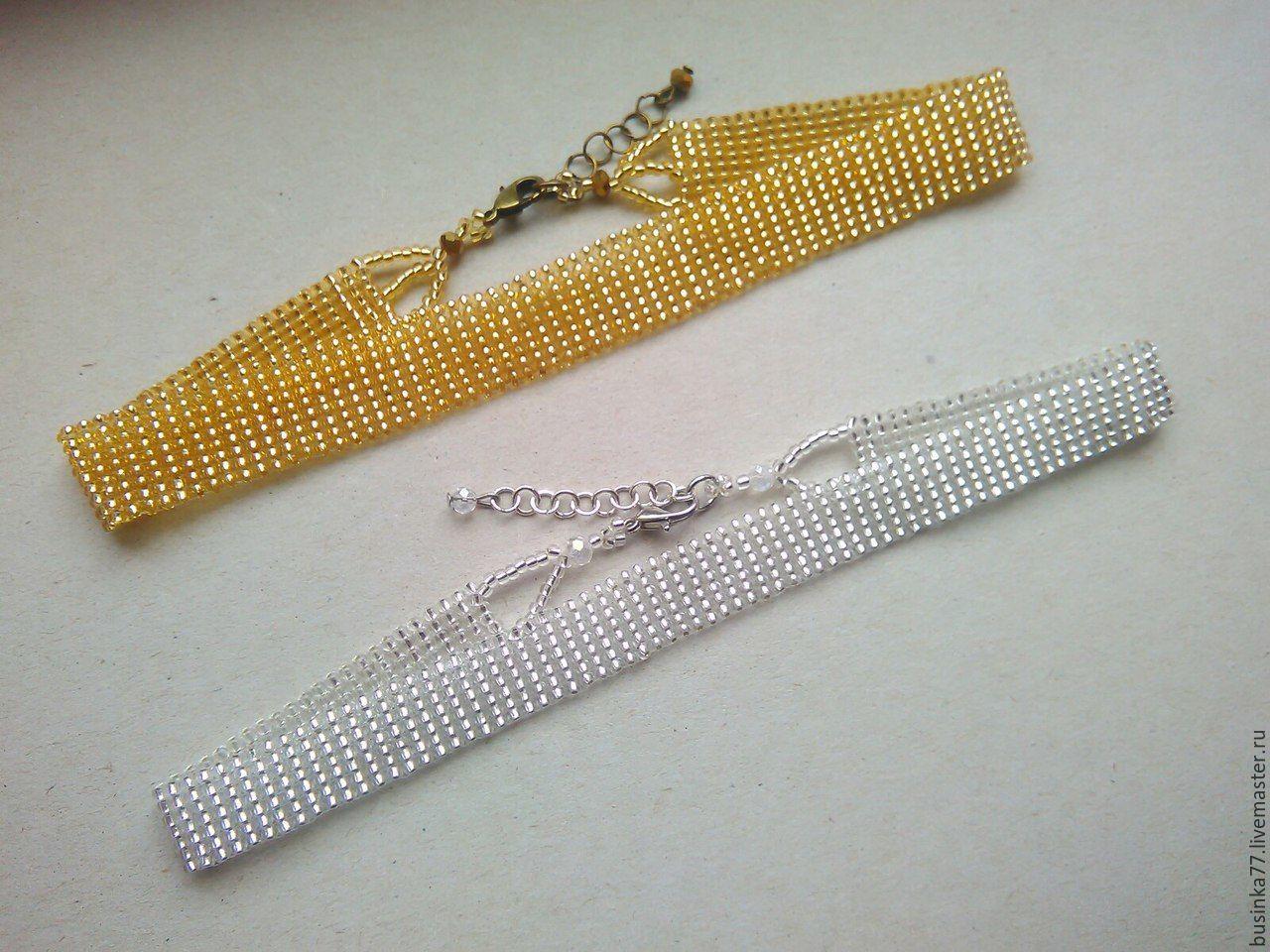 Схема плетения чокера: украшения из бисера - ЭтноБохо 65
