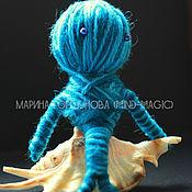 """Фен-шуй и эзотерика ручной работы. Ярмарка Мастеров - ручная работа """"Жизненные силы: стихия воды"""" Кукла-помощник. Handmade."""