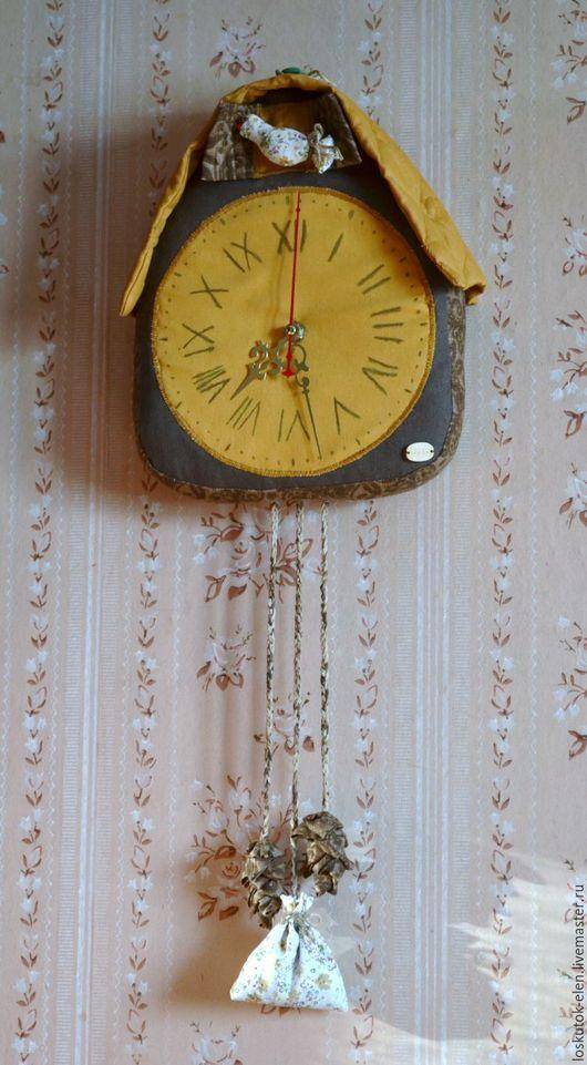 """Часы для дома ручной работы. Ярмарка Мастеров - ручная работа. Купить продано Часы """"С кукушкой"""". Handmade. Комбинированный, часы"""
