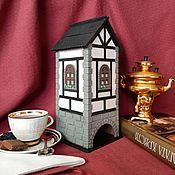 Для дома и интерьера handmade. Livemaster - original item HOUSES: Alpine tea house. Half-timbered house.. Handmade.