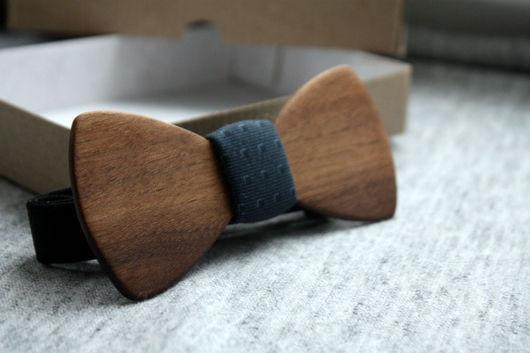 Галстуки, бабочки ручной работы. Ярмарка Мастеров - ручная работа. Купить Деревянная галстук-бабочка Classic из американского ореха. Handmade.