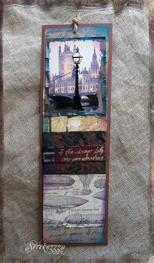 """Закладки для книг ручной работы. Ярмарка Мастеров - ручная работа. Купить Закладки из коллекции """"Шерлок и Лондон"""" (№ 17). Handmade."""