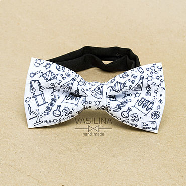 Accessories handmade. Livemaster - original item Bow tie chemistry, school bow tie. Handmade.