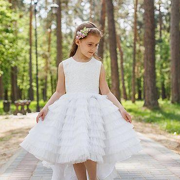 Одежда ручной работы. Ярмарка Мастеров - ручная работа Платье детское нарядное. Handmade.
