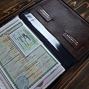 Папки ручной работы. Ярмарка Мастеров - ручная работа Органайзер для документов А4 на замке. Handmade.
