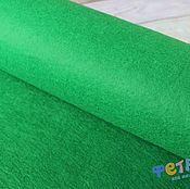 Материалы для творчества ручной работы. Ярмарка Мастеров - ручная работа Зеленый фетр, 2мм, Китай. Handmade.