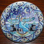 Винтаж handmade. Livemaster - original item Collectible plates