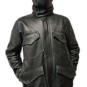 Одежда handmade. Livemaster - original item Winter Leather Jacket. Handmade.