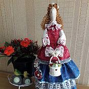 Куклы и игрушки ручной работы. Ярмарка Мастеров - ручная работа Тильда Цветочница. Handmade.