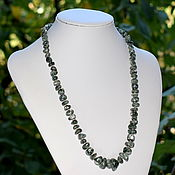 Украшения handmade. Livemaster - original item Choker/necklace of natural serafinite. Handmade.