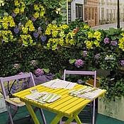 Цветы и флористика ручной работы. Ярмарка Мастеров - ручная работа Вертикальное озеленение балконов, летних кафе ,фасадов,ограждений. Handmade.