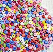 Материалы для творчества handmade. Livemaster - original item Buttons 6 mm non-ferrous and ferrous. Handmade.