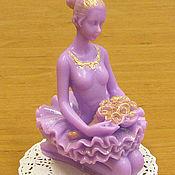 Косметика ручной работы handmade. Livemaster - original item Soap Dancer with a bouquet. Handmade.