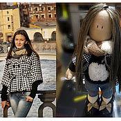 Подарки к праздникам ручной работы. Ярмарка Мастеров - ручная работа Текстильная кукла Настя. Handmade.