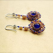 Украшения handmade. Livemaster - original item Earrings Glitter Of Versailles. Handmade.