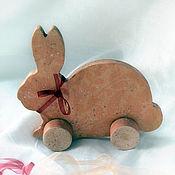 """Для дома и интерьера ручной работы. Ярмарка Мастеров - ручная работа Фигурка, игрушка """" Ах, эта кремовая зая"""". Handmade."""